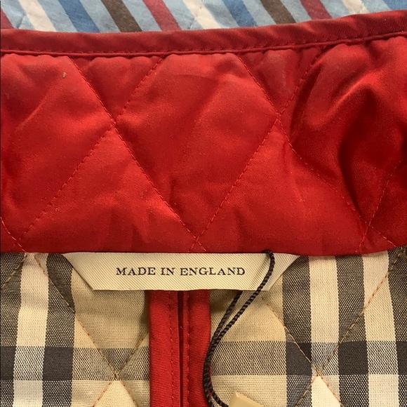 COPY - Burberry jacket red size medium.
